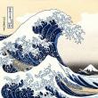 台風接近中観賞(^^)v パフォーマー☆北斎はスゴイです ~すみだ北斎美術館~