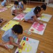 おれんじ 5歳児 絵画☆プール