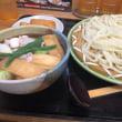 みんな大好き 肉汁うどん (´▽`)