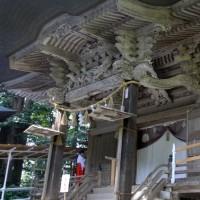 ご開扉(2) 蜂子神社
