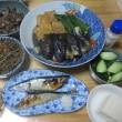 食卓も秋です…秋刀魚の塩焼き