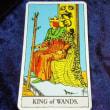 タロットカード:ワンドのクイーン・ワンドのキング