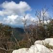 高城山の頂上でカップ麺
