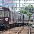 阪急 塚口市場踏切(2012.10.13) 3077F 回送