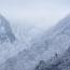 二月の稲村ヶ岳