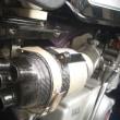 黒モンキーのエアークリーナーボックス取り付け方法変更