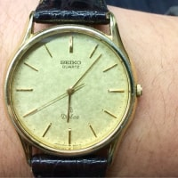 今日の腕時計 11/30 SEIKO Dolce 9641-8000