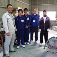 MRバット工場の職場体験学習