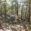 水曜ジョイフルは68人が旧山下道後半・笹部の祠の折り返し。