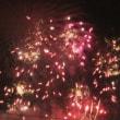 夏の風物詩  遠くから見た  花火