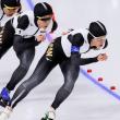 日本「スケート三人娘」が団体追抜で金メダル!:高木美帆が金・銀・銅の全メダル獲得!