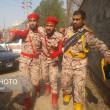 イラン南西部で軍事パレードに襲撃、兵士8人死亡 20人超負傷