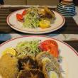 椎茸の肉詰めフライ