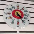 T海大病院のニャンコ時計