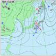 11月23日 アメダスと天気図。