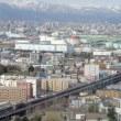 札幌市内走行するコンテナ列車 (2013/5/9 新札幌にて)