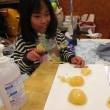 調理実習 ~桃のパンナコッタ~