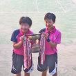 ◇ 孫娘が 区の中学 軟式テニス大会