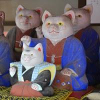 住吉大社の招福猫