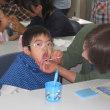 小学部1年生 親子歯磨き教室・親子給食