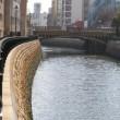 堀川の川面の景色