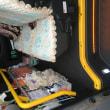 介護タクシー シートカバー変更