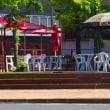 10月7日にバルコニーオルガンライブをする長居公園のM's STANDです。