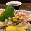 飯蛸の踊り食いを食べる