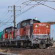 JR貨物 DD51-1156&1801号機 8079レ 関西本線(稲沢-四日市)