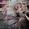 """アメリカ発(2014 2/15)USAビルボード""""シングル/ランキング/トップ100/ユーチューブ動画付 21位- 40位/音楽"""