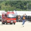 岡山で消防操法を競う訓練大会
