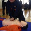 蕨市消防団員研修 AED取扱と心肺蘇生に挑戦