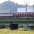 天高く、多摩川橋梁
