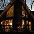 南軽井沢 夕暮れの cafe HARUKI