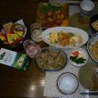 勤労感謝の手料理満載の晩ご飯