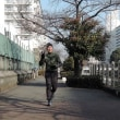 蘇れジャッキー!一週間後には美酒を running training for the Osaka half marathon January 28th