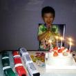5才、お誕生日前夜祭