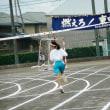 台風接近 運動会決行