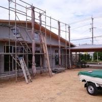 桑野の家 順調に工事が進んでいます。