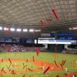 永江選手がヒーローに最高の野球観戦でした!!