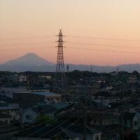 久しぶりに富士山
