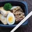 牛肉豆腐と鮭&白菜のクリーム煮