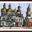 ベラルーシ・ウクライナ・モルドバ旅行シリーズ (30)キエフ・ペチェルスカヤ修道院