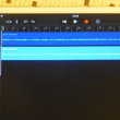 *GarageBand(iPadのアプリ)で遊びました~~♪