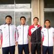 中国高校新人 撃沈。。。