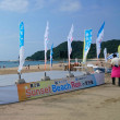 砂浜10キロマラソンは想像以上でした・・・・