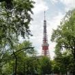 お茶会と東京タワー