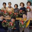 JA桜木女性部 クリスマスリース講習会