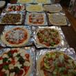 18人のピザパーティ