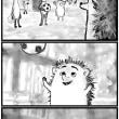 ■向日葵猫(16)ヤマアラシくん